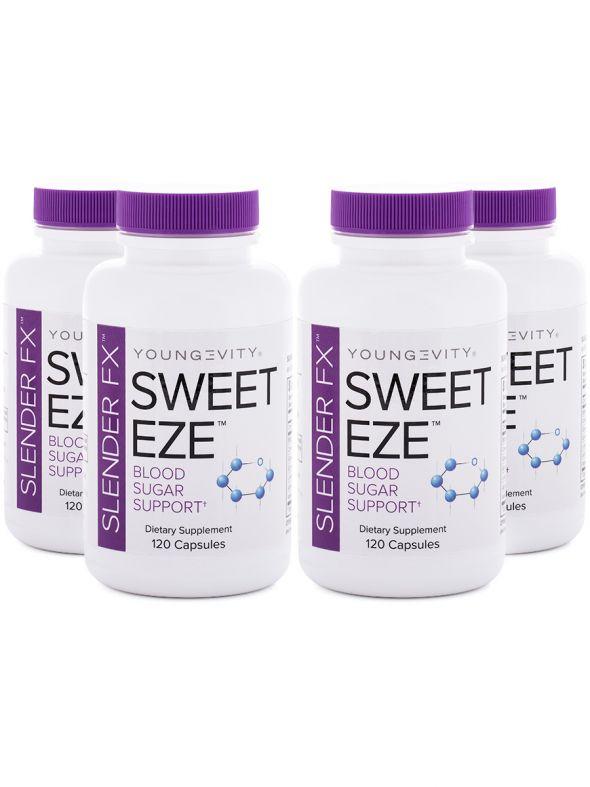 Slender Fx™ Sweet Eze™ - 120 capsules (4 Pack)