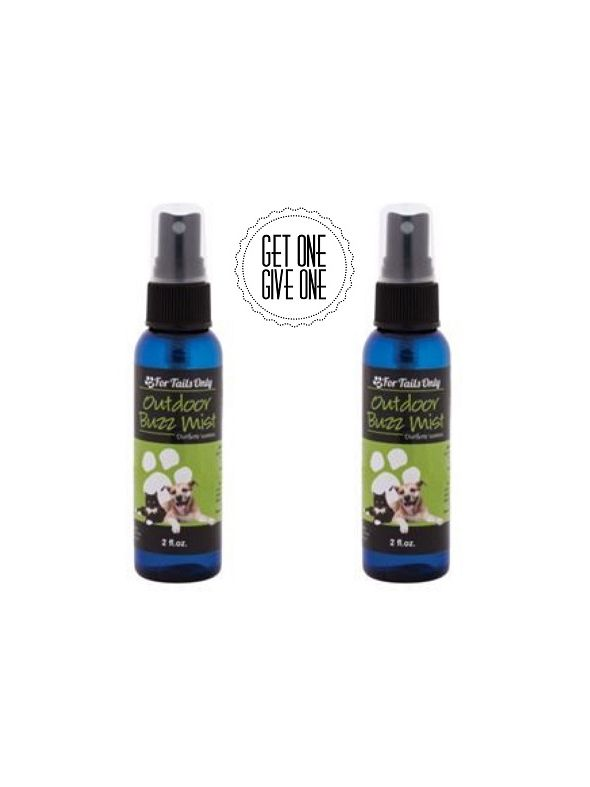Outdoor Buzz Mist [QTY: 2; Give One Get One FREE]