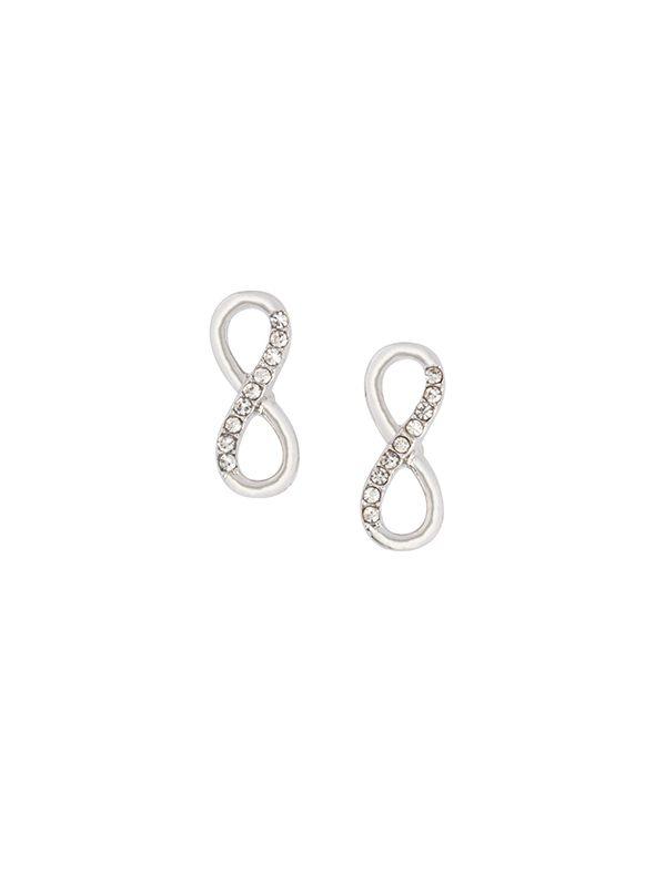 Infinity Stud Earrings